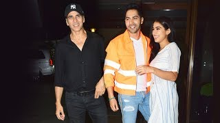 Coolie No. 1 WRAP UP Party | Sooryavanshi Akshay Kumar, Varun Dhawan, Sara Ali Khan