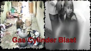 Gas cylinder blast in Hyderabad, four injured, house destroyed