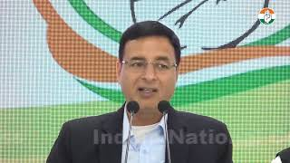 LIVE: AICC Press Breifing By Randeep Singh Surjewala and PL Punia at Congress HQ
