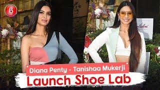 Diana Penty & Tanishaa Mukerji Look Smoking Hot As They Launch Mumbai's First Designer Shoe Lab