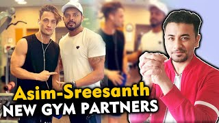 Sreesanth Praises Asim Riaz For His Dedication | Gym Partners | Bigg Boss Fame