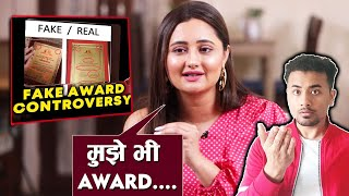 Shocking! Rashami Desai Reveals She Refused To Take Dada Saheb Phalke Award | Bigg Boss 13 Fame