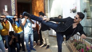Tiger Shroff Amazing STUNT During Baaghi 3 Promotion