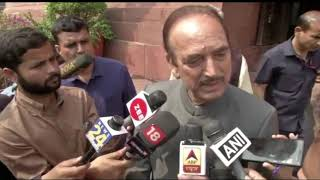 Budget Session 2020 | Ghulam Nabi Azad addresses media in Parliament House on Delhi Violence