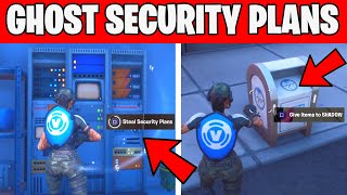 Steal Security Plans From The Rig , Yacht or Shark and Deliver them to Ghost Fortnite