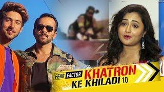 Rashmi Deasai Reaction On Khatron Ke Khiladi Season 10 | Shivin Narang | Rohit Shetty