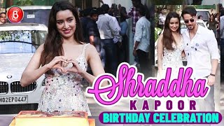 Shraddha Kapoor Celebrates Her Birthday With Tiger Shroff & Baaghi 3 Team With Huge Fanfare