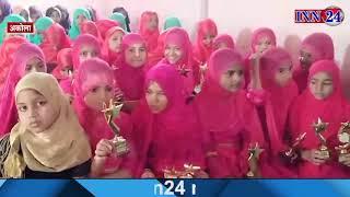 अकोला - स्कूल के डायरेक्टर द्वारा विद्यार्थियों को किया गया सम्मानित
