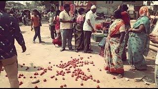 Ghareebo Par Zulm In Jalpally Hyderabad | Street Vendors Ki Appeal | @ SACH NEWS |