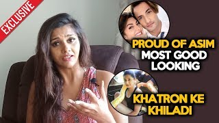 Daljiet Kaur Exclusive Reaction On Asim And Jacqueline Song MERE ANGNE MEIN 2.0 | Khatron Ke Khiladi