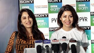 Debina Bonnerjee And Smita Gondkar At Theatrical Screening Of The Docu Film Climate Change The Facts