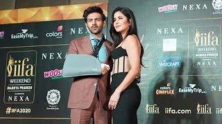 Katrina Kaif And Kartik Aaryan At IIFA Awards 2020 Press Conference