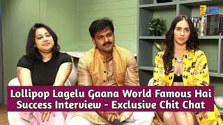 Pawan Singh, Lauren Gottlied & Payal Dev - Exclusive Interview - Kamariya Hila Rahi Hai Song