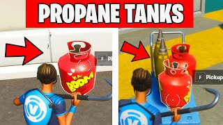 DESTROY STRUCTURES WITH PROPANE TANKS - TNTINA's TRIAL CHALLENGES Fortnite