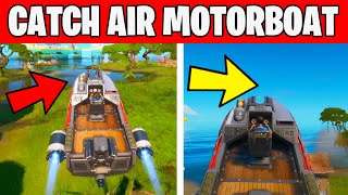 CATCH AIR WITH A MOTORBOAT - TNTINA's TRIAL CHALLENGES Fortnite