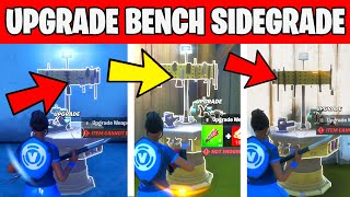 Use Upgrade bench to Sidegrade a weapon - TNTINA's TRIAL CHALLENGES Fortnite