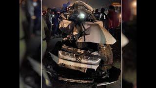 Karnataka: 13 killed as SUV collides with car in Tumakuru