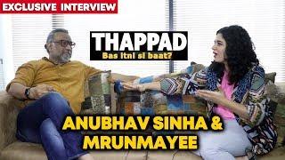 Director Anubhav Sinha & Mrunmayee Lagoo Exclusive Interview | Thappad Success | By RJ Divya Solgama