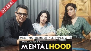 Exclusive Interview With Sanjay Suri, Shilpa Shukla & Sandhya | Mentalhood | By RJ Divya Solgama