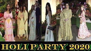 Isha Ambani Host Grand Holi Party 2020 । Priynka Chopra । Nita Ambani । Jacqueline | News Remind
