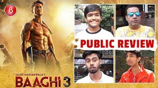 Baaghi 3 Public Review   First Day First Show   Tiger Shroff   Riteish Deshmukh   Shraddha Kapoor
