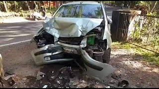WATCH: How a diabetic with low blood sugar met with an accident at Canacona