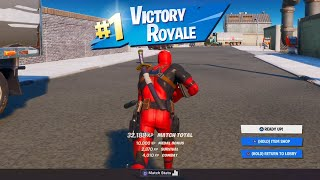 Deadpool Skin Gameplay! Fortnite Chapter 2 - Season 2