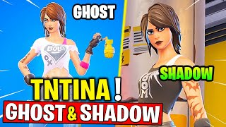 How To Get Shadow Or Ghost TNTINA - Complete 18 TNTina Challenges! Fortnite Chapter 2 - Season 2