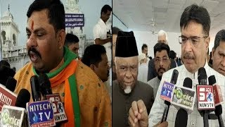 AIMIM & BJP In Assembly | Raja Singh | Ahmed Balala | And Other Mla's Speaks |