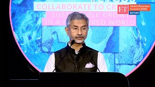 Dr S. Jaishankar on Indian Foreign Policy in Era of Geo-Political Volatility| Full Session| ET GBS