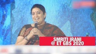 Smriti Irani quips at Rahul Gandhi | ET GBS 2020