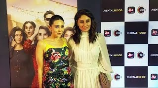 Kareena And Karisma At Mentalhood Screening | ALTBalaji Web Series