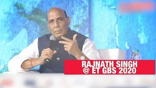 Growing curiosity towards Indian defence equipment at global level: Rajnath Singh | ET GBS 2020