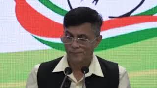 Pawan Khera addresses media at Congress HQ on Yes Bank Crisis