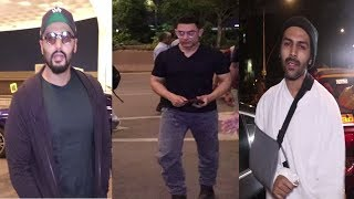 Aamir Khan, Kartik Aryaan, Arjun Kapoor Spotted | News Remind