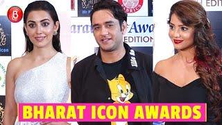 Who's Who Of Telly World Attend Bharat Icon Awards | Vikas Gupta