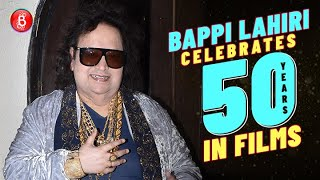 Bappi Lahiri Celebrates 50 Years Of Being In The Film Industry