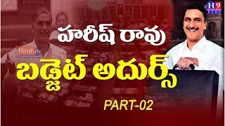 Telangana Budget 2020 | Harish Rao presenting budget 2020-21//part-2//Hindutv H9news