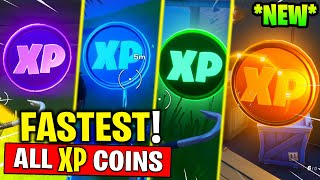 FASTEST Way To Gain XP - All XP Coins Locations in Fortnite Chapter 2 - Season 2