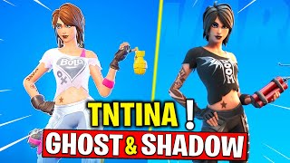 Complete 18 TNTina Challenges - Shadow Or Ghost TNTINA! Fortnite Chapter 2 - Season 2