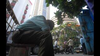 Bloodbath on Dalal Street. Sensex down by 2,100 points.