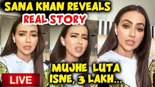 Sana Khan EXPOSES Her Ex-Boyfriend Melvin Louis In LIVE Chat With Fans