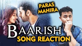 BAARISH Song Reaction | Review | Mahira Sharma & Paras Chhabra | Bigg Boss 13 Fame