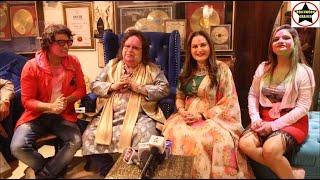 Pre Holi Party At Bappi Lahiri House Hosted By Manju Bharti & Mukesh J Bharti