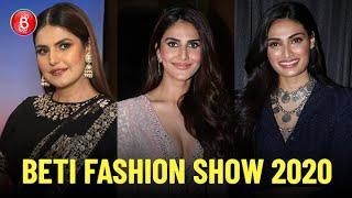 Zareen Khan, Vaani Kapoor & Athiya Shetty Come Forward For The Beti Fashion Show 2020 | Women's Day