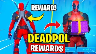 SECRET DEADPOOL REWARDS - Katanas, Toilet Plunger, Destroy Toilets! Fortnite (Locations)