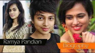 Ramya Pandian Biography | Ramya pandian father, Family, Movies, Wiki & Latest News
