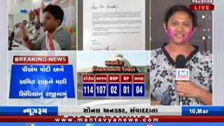 Congress leader Jyotiraditya Scindia tenders resignation to Congress President Sonia Gandhi