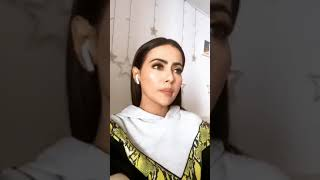 Sana Khan Shocking EXPOSED Ex Boyfriend Melvin Luis In Live Video