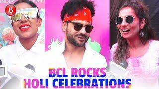 Nia Sharma, Vishal Aditya Singh And Others Have Fun At The BCL Holi Celebrations